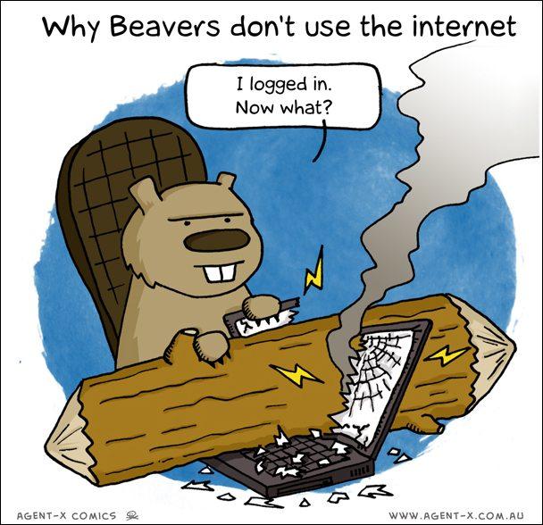 комикс beaver to beaver comicshere