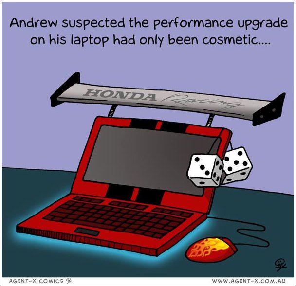 Suspect Laptop upgrade...