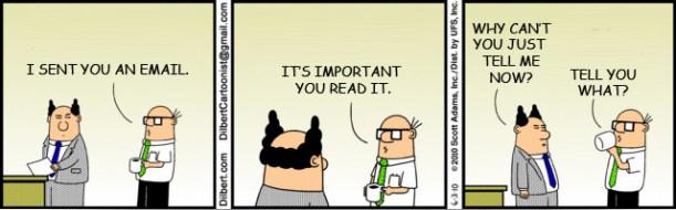 Dilbertte reflects office life better than Dilbert