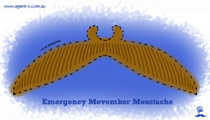 Emergency Movember Moustache