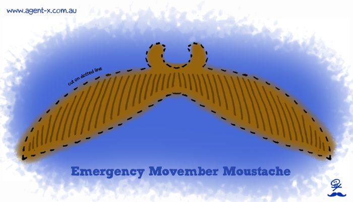 Emergency Movember Moustache
