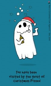 The Ghost of Christmas Pissed