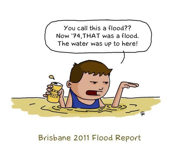 2011 Brisbane flood report