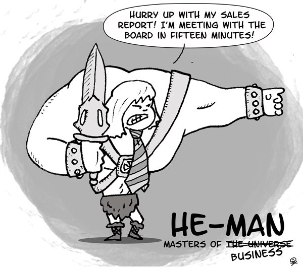 He-Man. Master of Business