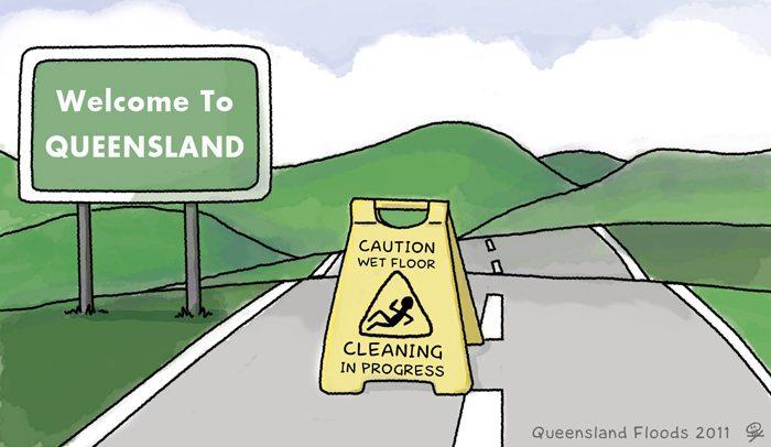 Qld Flood Cleanup #QldFlood