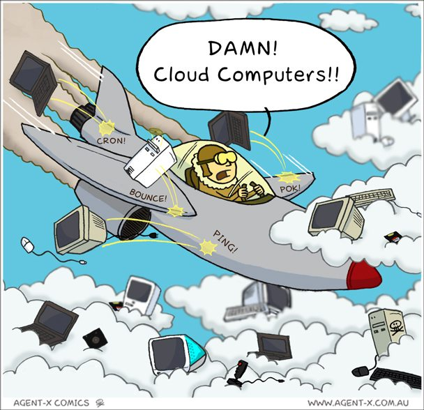 Damn Cloud Computers Agent X Comics
